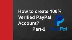 Get IBAN , Identity proof and Order Payonner Master Card | PayPal | Part-2