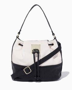 charming charlie   Abilene Colorblock Bucket Bag   UPC: 3000764919 #charmingcharlie