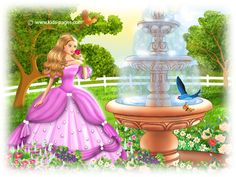 A Sleeping Beauty 5 Fairy Gifts, Kids Pages, Briar Rose, Fairy Tail, Filigree, Sleeping Beauty, Colorful, Disney Princess, Cute