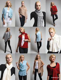 Con tan solo una tela, muchas opciones para vestir