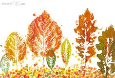 C.C. Lowell: Fall Fun - Art Projects for Kids! - Used for the Webelos Artist Pin.  The boys really enjoyed painting on leaves!
