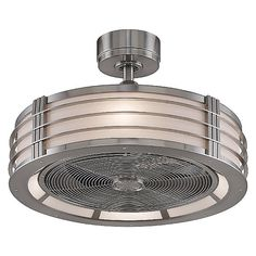 Fanimation Beckwith Ceiling Fan in Aluminum with  Finish