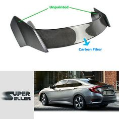 Painted Color For Honda CR-V 3rd SUV Mugen Rear Trunk Spoiler Wing EX-L 2011