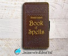 Harry Potter inspired Book of Spells leather by YouCustomized