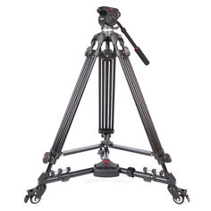 119.97$  Watch here - http://alix5b.worldwells.pw/go.php?t=32462473403 - DHL JIEYANG JY0508 Professional Camera Video Tripod Dslr Tripods Fluid Head Damping Accessories JY-0508 Tripodes Para Camaras