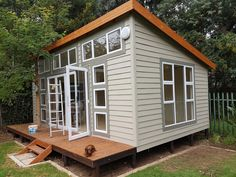 Image result for wendy houses Nutec Houses, Play Houses, Small Houses, Garden Studio, Home Studio, Wendy House, Home Office Design, Prefab, Outdoor Gardens