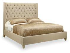 Bernhardt | Salon Upholstered Panel Bed (341-H66, 341-FR66)