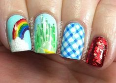 Awesome wizard of oz nails