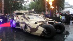 Some lucky signwriter got to wrap this: Batman #vehicle wrap
