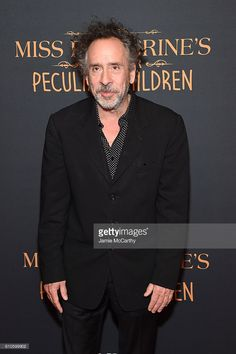 Director Tim Burton attends the 'Miss Peregrine's Home For Peculiar Children' premiere at Saks Fifth Avenue on September 26, 2016 in New York City.