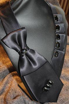 Woman Necktie Unique Scarf Upcycle Tie Unique Tie NEW