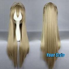 88cm Cheap Sexy Long Silver Silk Straight Cosplay Wigs Anime  for Women Ladies  Isuzu Synthetic Heat Resistant  Hair Wigs