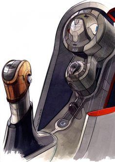 Ford Verve Concept design sketch from the Design Sketch Board http://www.carbodydesign.com/design-sketch-board/