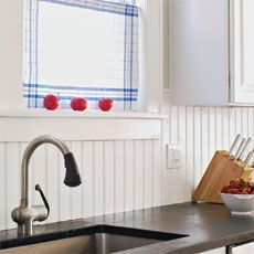 How to Install a Solid-Surface Backsplash
