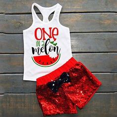One in a Melon Clothing Set