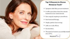 Top 10 Reasons to choose MonaLisa Touch! #indianapolis #indiana #carmel