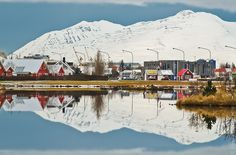 Akureyri just like this when I was here, beautiful