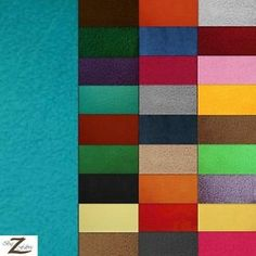 SOLID-POLAR-FLEECE-ANTI-PILL-FABRIC-30-Colors-60-WIDTH-SOLD-BY-THE-YARD