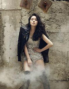 More Of Han Ga In Dancing In Harper's Bazaar Korea's November 2013 Issue | Couch Kimchi