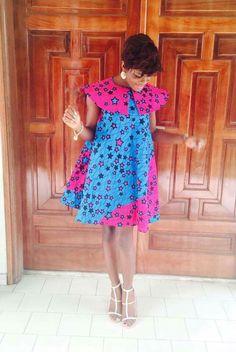 Ankara Xclusive: Latest African Ankara Maternity Gowns & Dresses Styles for Pregnant Ladies Nigeria African Dresses For Women, African Print Dresses, African Attire, African Wear, African Fashion Dresses, African Women, Ghanaian Fashion, African Prints, Ankara Fashion