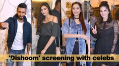 Enjoy 'Dishoom' rainy screening with celebs , http://bostondesiconnection.com/video/enjoy_dishoom_rainy_screening_with_celebs/,  #AkshayKumar #Dishoom #DishoomScreening #JacquelineFernandez #JohnAbraham #RanveerSingh #SonamKapoor #SunnyLeone #VarunDhawan