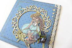 Daniela.D / pohľadnica s vílou