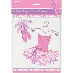 From 0.80 Pink Ballerina Party Bags Pack Of 8
