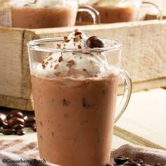 Gooseberry Patch Recipes: Cool and creamy Cappuccino Cooler!