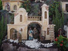 3- Belenes de Navidad Tercera Estación La Visitación krouillong comunion en la mano es sacrilegio stop communion in the hand