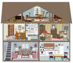 918431789c36cdb0a0a5e0d837c7552f jpg 485×423 pixels Dibujo de casa Casas de muñecas Casas