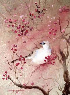 white bird- Lily Pang