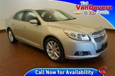 2013 Chevrolet Malibu 1LZ at The VanDevere Bunch in Akron Ohio.