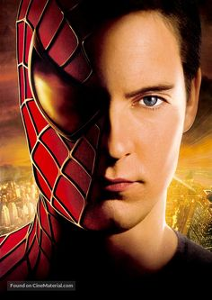 Peter parker acts like he is embarrassed and mysterious and constantly getting bullied even before he was Spiderman Spiderman Poster, Spiderman Art, Amazing Spiderman, Parker Spiderman, Marvel Comics, Marvel Dc, Spiderman Sam Raimi, Film Venom, Spider Man Trilogy