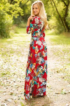 Modest Regal Maxi Dress