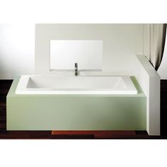 """PLENITUDE"" PODIUM BATHTUB (drop in) at rona.ca"