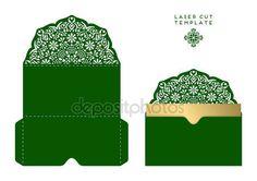 Descargar - Plantilla del corte del laser de tarjeta de boda Vector — Ilustración de stock #132181416