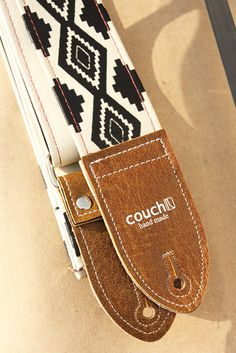 Native American Guitar Strap