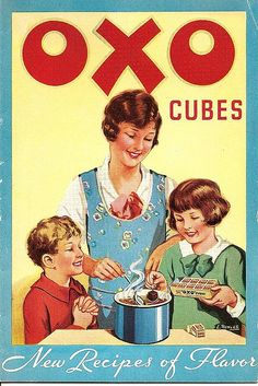 Oxo Cubes recipe book front cover by Ken, KE1RI, via Flickr