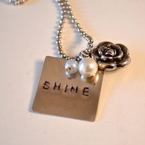SHINE necklace from #TheShineProject