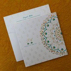 Wedding invitations diy indian hindus new ideas Indian Wedding Invitation Cards, Hindu Wedding Cards, Creative Wedding Invitations, Wedding Invitations Online, Diy Invitations, Wedding Invitation Design, Invites, Wedding Stationery, Shadi Card