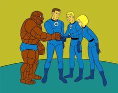 The Original Fantastic Four Cartoon