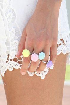 #ringsandthings #pastels