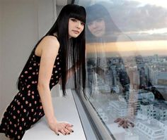 Kozue Akimoto// getting my hair back to this.