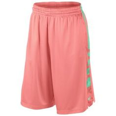 Nike Elite Stripe Short - Men's - Team Orange/Gamma Blue