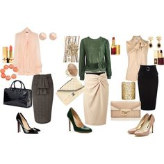 Business style, created by aylinangelina on Polyvore