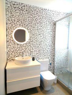 #www.creares.es #trencadis #microcemento #baño #diseño #chus