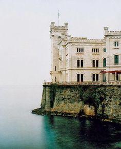 Miramare Castle, Trieste, Italy