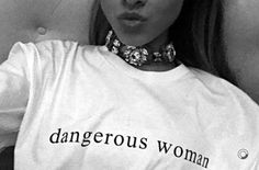 "Ariana Grande Declares Herself A ""Dangerous Woman"""