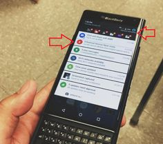 BlackBerry Priv spotted on Instagram running on Verizon's network