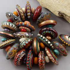 US $202.50 New without tags in Jewelry & Watches, Loose Beads, Lampwork